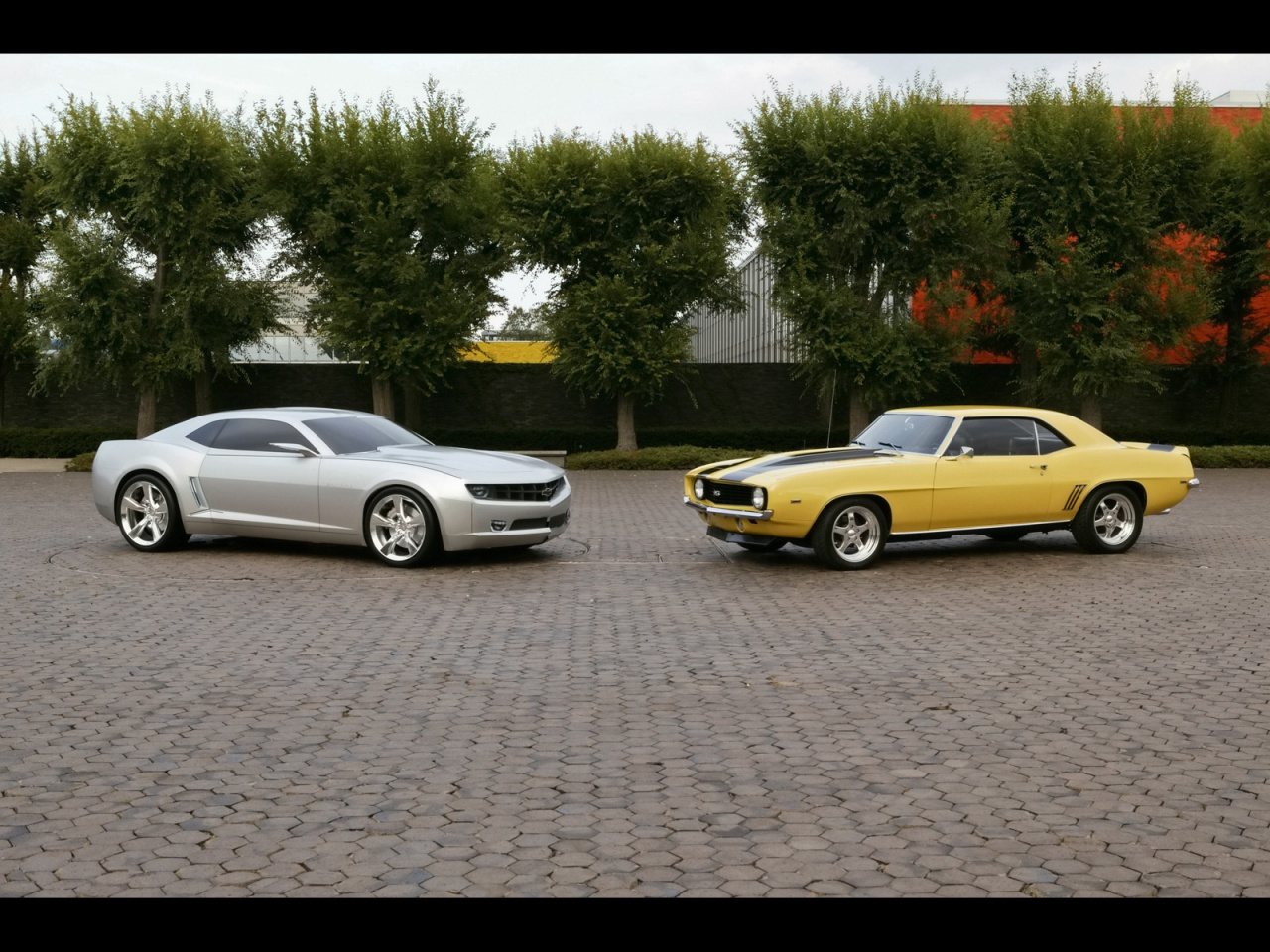 Chevrolet Camaro Fan Club - old vs new wallpapers 11968 1280x960