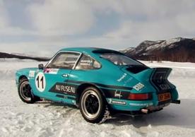 DR Porsche 911 Ice Driving