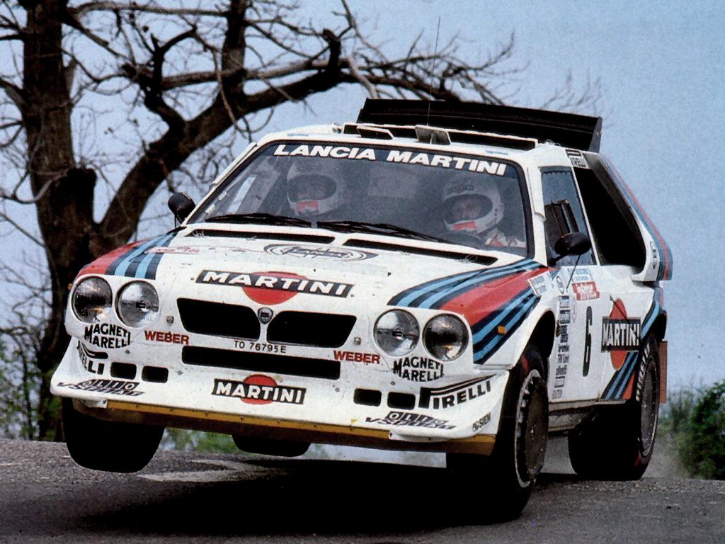 Lancia Delta S4 Rally Car. Lancia Delta S4