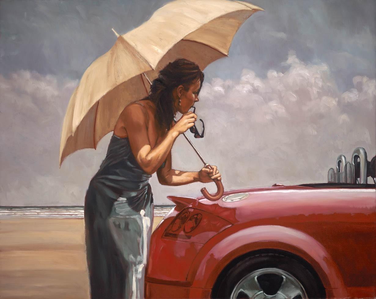 red_hot_mark_spain_figurative_art_audi_tt_umbrella_park_gallery_glasgow.jpg