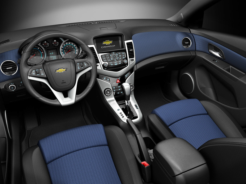 new Chevy Cruze interior inspired by early 90s boom box ...