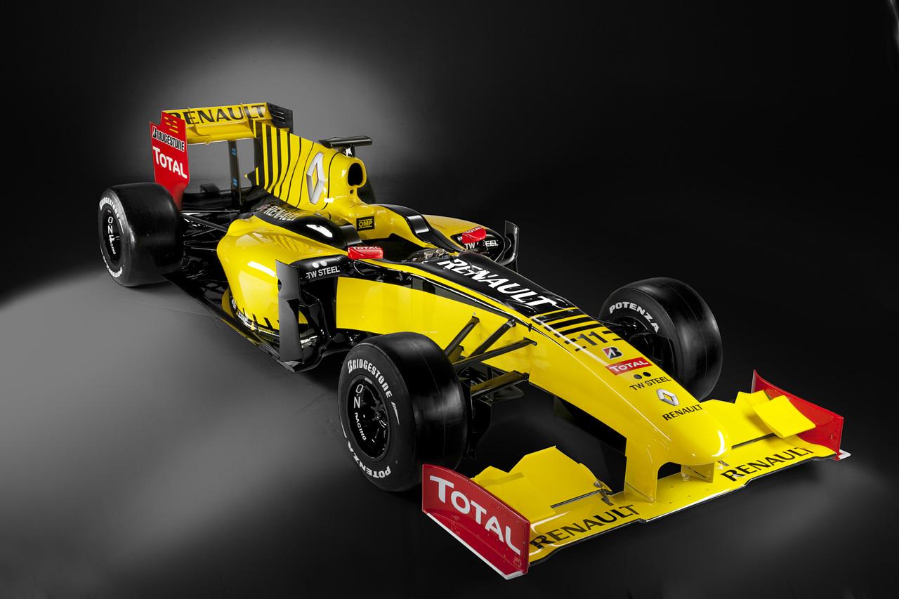 F1: Renault Revives Vintage Livery Colours For F1.