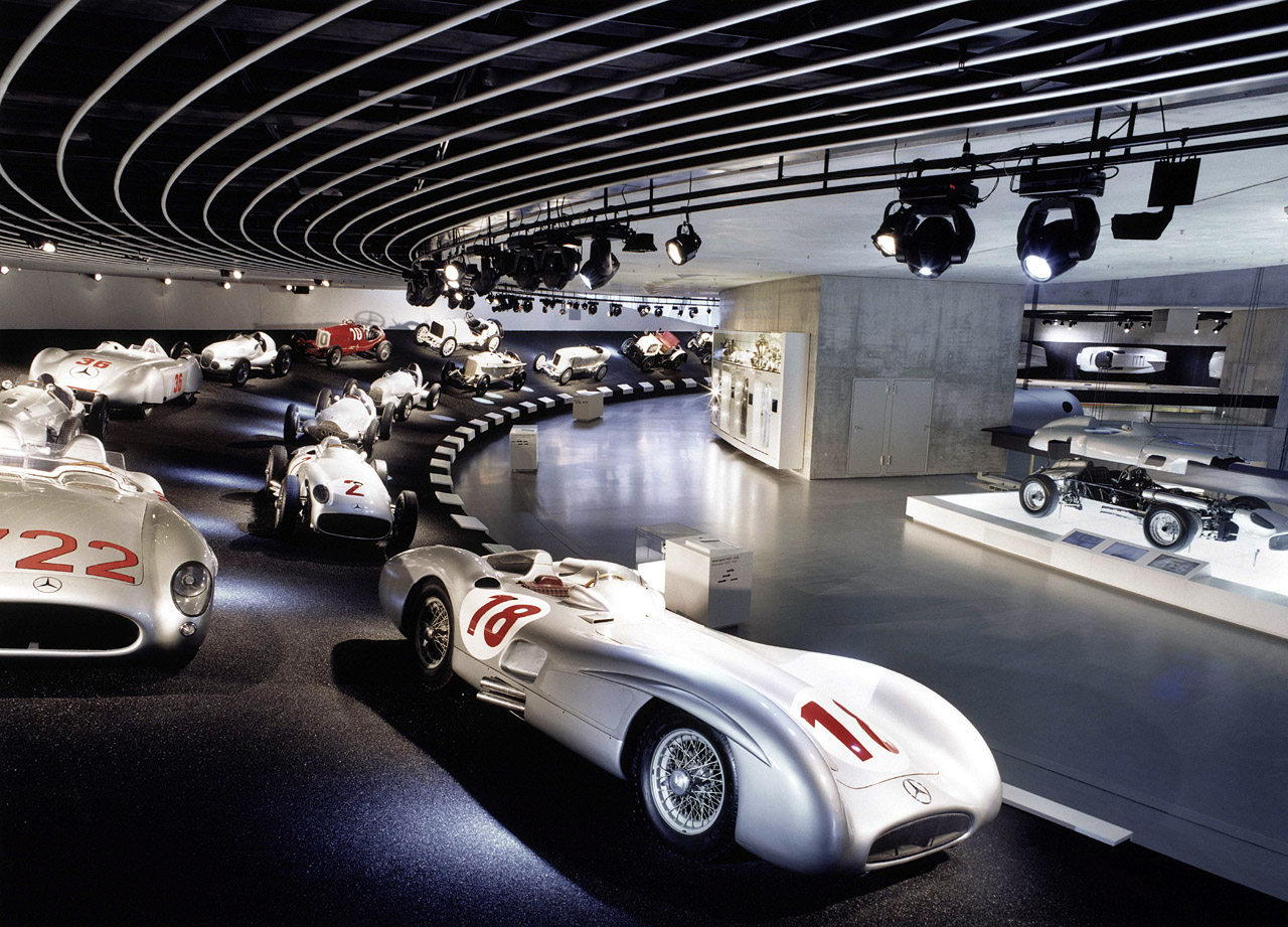 Take a tour of the Mercedes-Benz Museum. | IEDEI