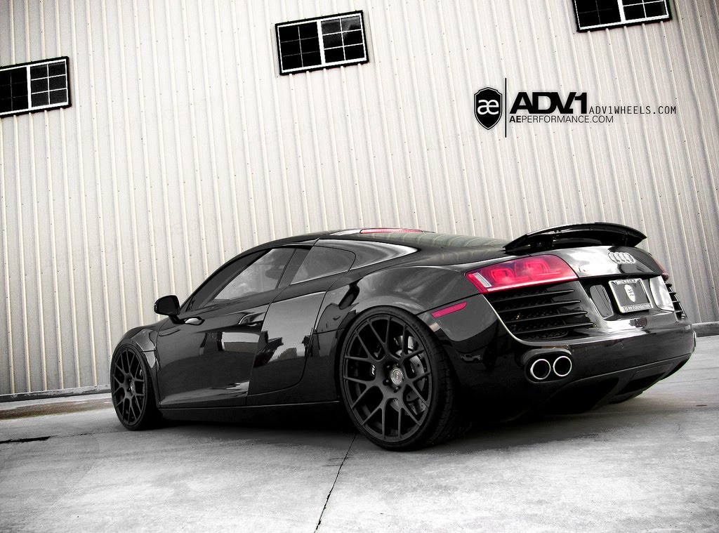 Tags: adv.1 wheels, ae performance, all black audi r8, audi r8, audi r8 v10,