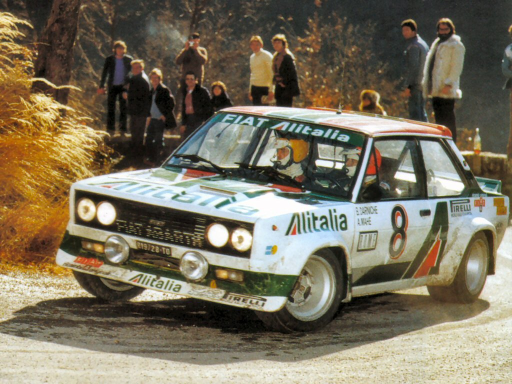 foto of the day. 131 Abarth.