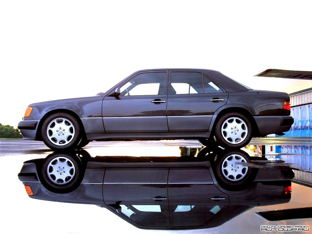 W124 iedei for Mercedes benz 500e