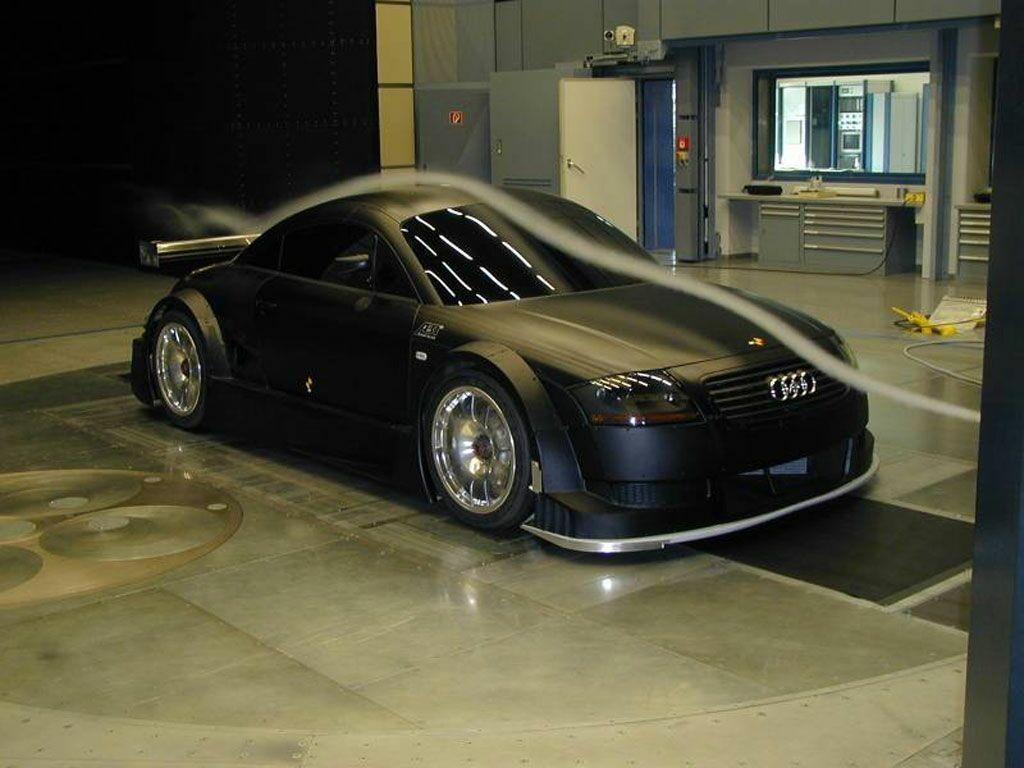 Random Shot Audi Tt R Dtm Racer In Wind Tunnel Testing