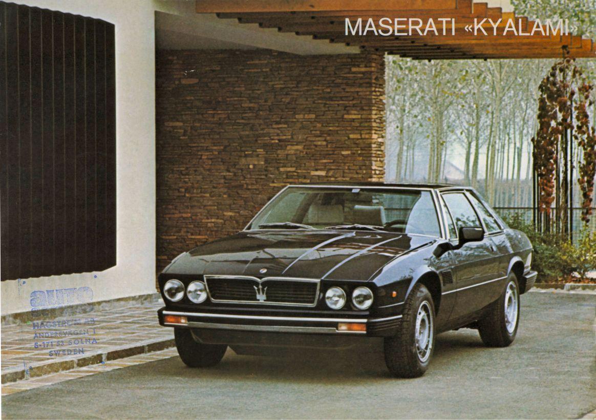 Maserati Kyalami (1976)