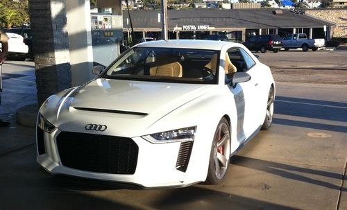 2010 Audi Quattro Concept. audi quattro concept; real