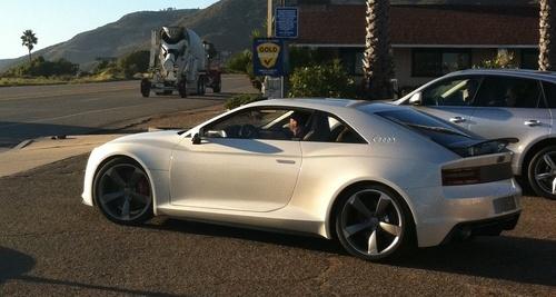 Audi Quattro Concept Real Life Pics Iedei