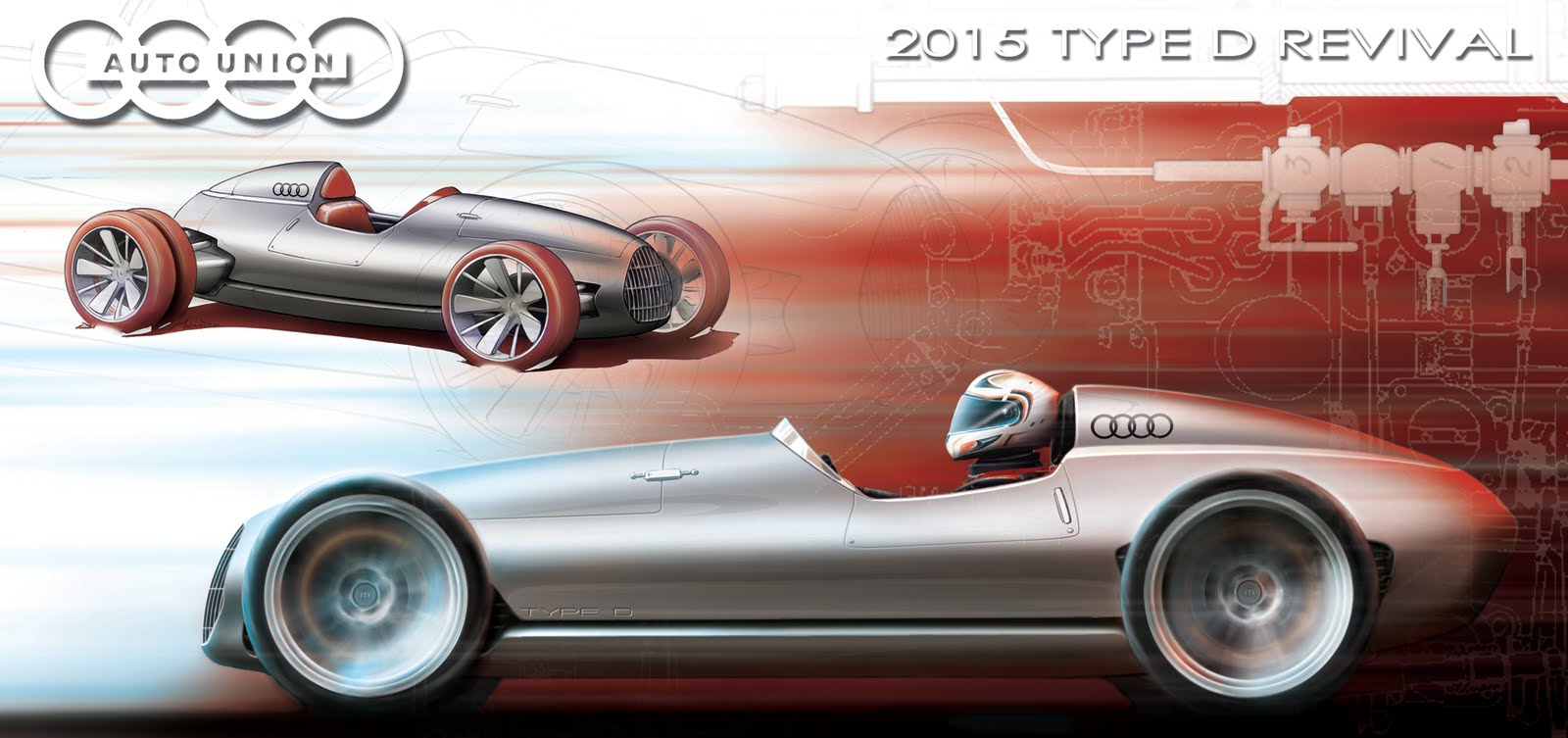 2015 auto union type d iedei for D and a motors