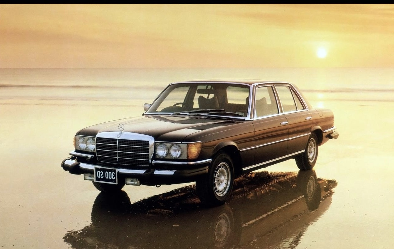1972 euro sedans iedei for Mercedes benz s series