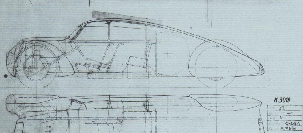 Lost plans: Auto Union Type 52 supercar. | IEDEI