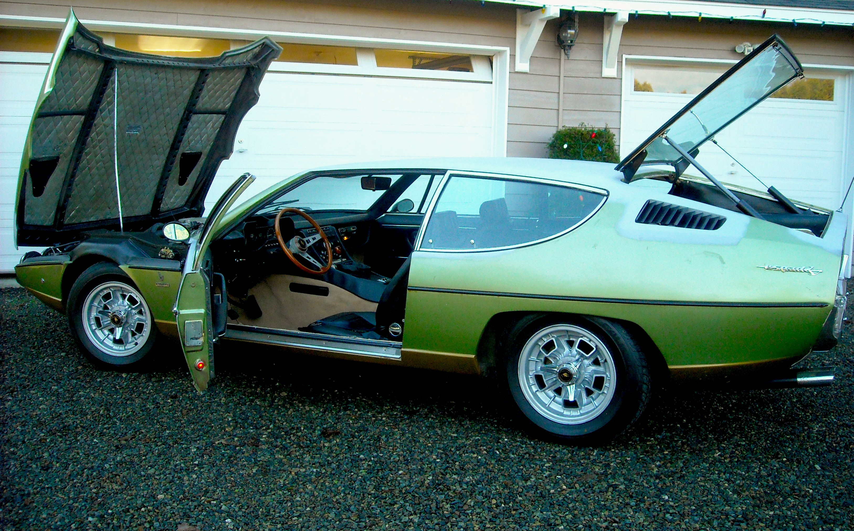 Something Different Lamborghini Espada With A Chevy V8 Iedei