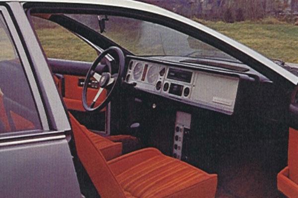 Pininfarina Nsu Ro Interior