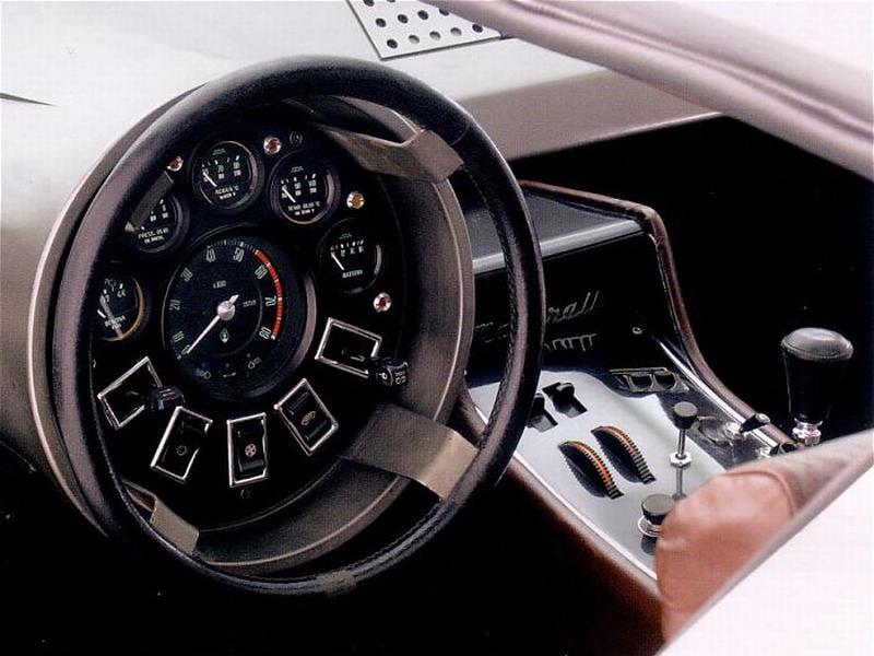 from the 1972 Maserati Boomerang Concept (ItalDesign)