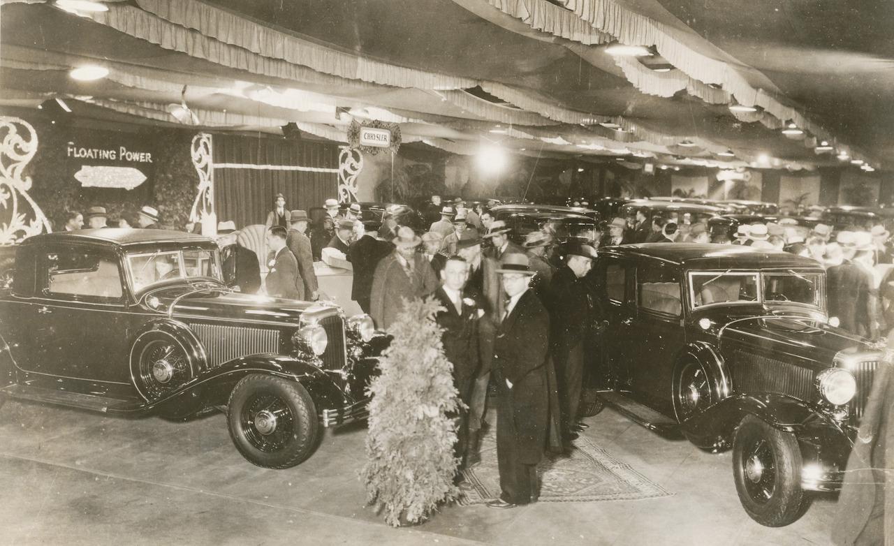 Detroit Auto Show Vintage Photo Archives Iedei