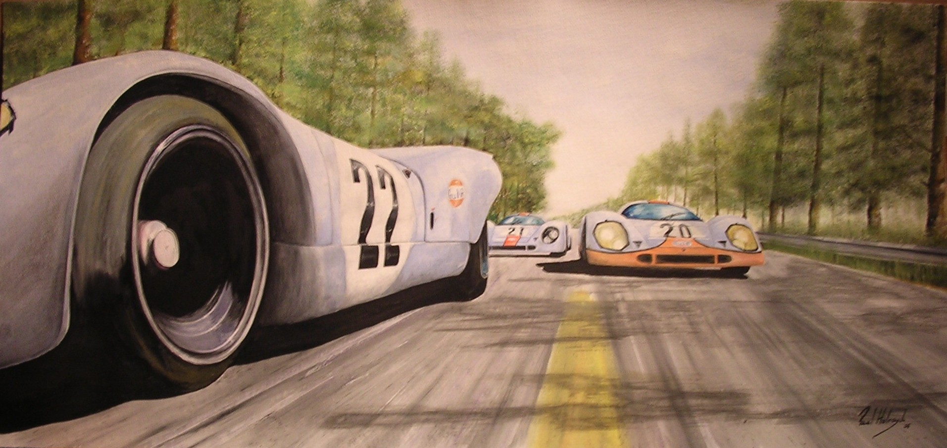 Porsche 917 iedei for Garage automobile le mans