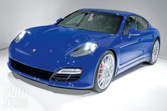 2016 - [Porsche] Pajun (mini Panamera) - Page 2 Porsche-pajun-front-1