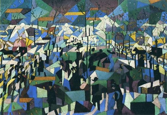 the-boulevard-by-gino-severini-1911